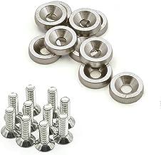 Universele aluminium naald 6M geanodiseerd stalen bouten (grijs)