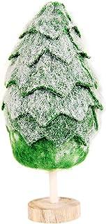 BESTOYARD Minienfeites de árvore de Natal para flocos de neve e decoração de mesa de Natal, árvore de decoração de casa, l...
