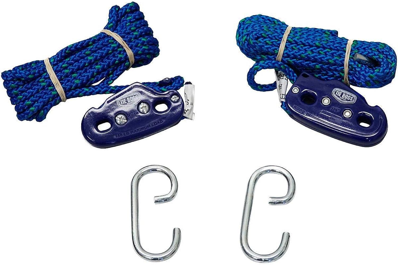 Tie Boss Tie Downs (2 Pack  1 4″)