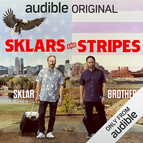 Sklars and Stripes audiobook cover art