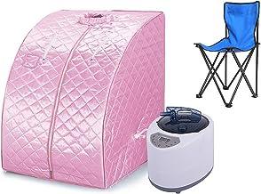 Draagbare Sauna, Huishoudelijke Vouwen Sauna Doos, Draagbare Sauna, Draagbare Eenpersoons Spa-machine (Roze)