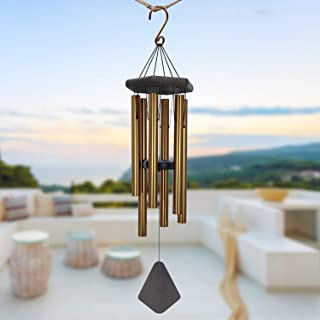 ASTARIN Wind Chimes Outdoor Large Deep Tone, Memorial Personalized Wind Chimes with 6 Long Metal Tubes, Sympathy Wind Chim...