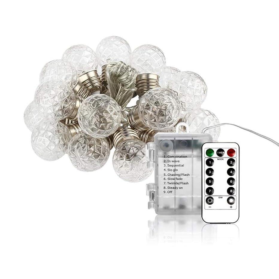 勧める誘導周辺ZMAYASTAR LEDストリングライト ソーラーライト 20LED電球 6M 装飾ライト パーティー 結婚式 クリスマス パイナップル形 電球色 MU-24