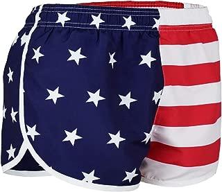 Best women's american flag running shorts Reviews