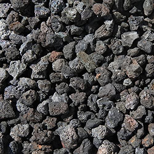水槽用 溶岩石 石 砂利 溶岩 水槽 アクアリウム 熱帯魚 水槽の石 レイアウト 底石 約1.5cm〜3cm 10kg