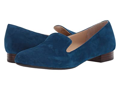 SOLE / SOCIETY Macey (Cerulean Blue Suede) Women