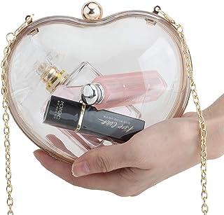 01e71b8682fe Amazon.com: Clear - Clutches & Evening Bags / Handbags & Wallets ...