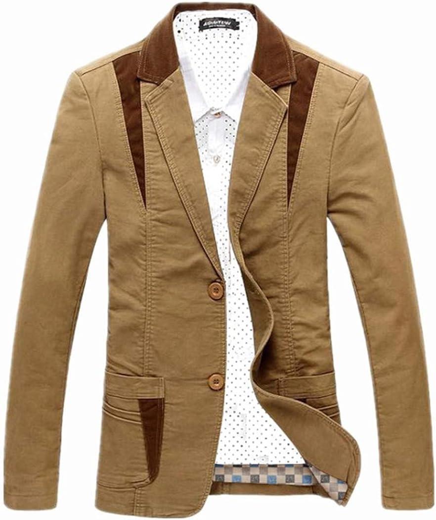 Snowman Lee Mens Causal 2 Button Plaid Lined Polyester Suit Jacket Slim Fit Semiformal Blazer Jacket