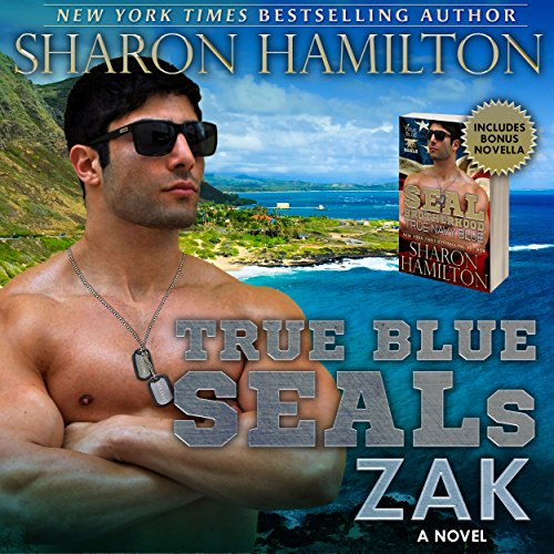 True Blue SEALs: Zak audiobook cover art