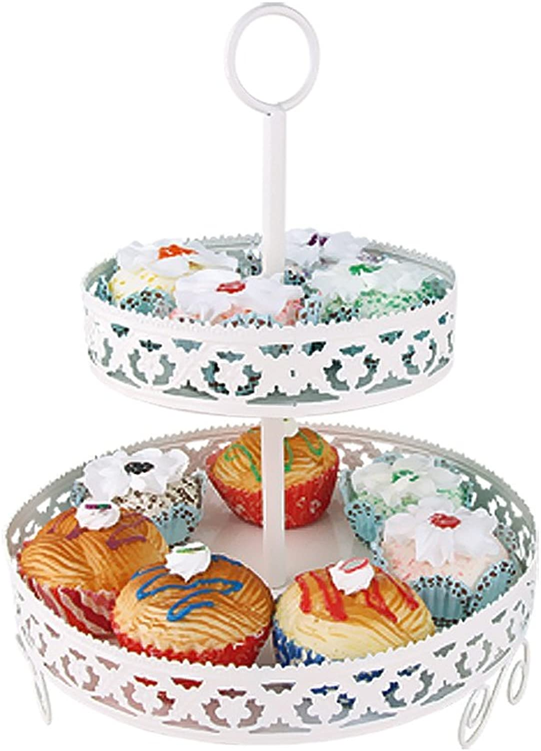 YZ1805, Collier multicouches Rack Irons Fête d'anniversaire Mariages Dessert Bakery Frame Cupcakes Rack