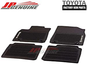 Coverking Custom Fit Front Floor Mats for Select Lexus ES250 Models Black Nylon Carpet