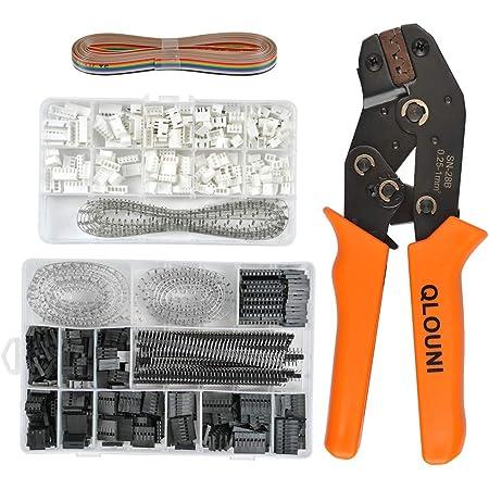 Crimping Tool Kit Ratchet Crimper Plier for Dupont Professional Pin Ratchet Crimping Tool