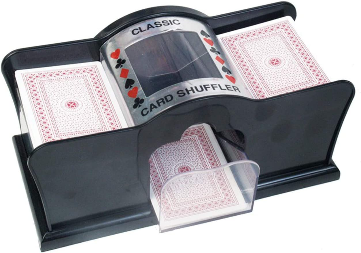 Card Shuffler for Poker Deck 4 years warranty Playing Bridge P and latest Manual Cards