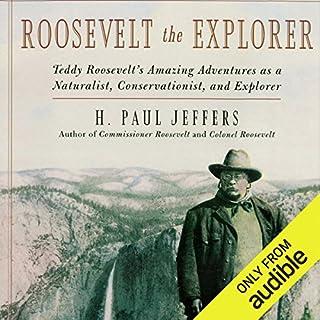 Roosevelt the Explorer audiobook cover art