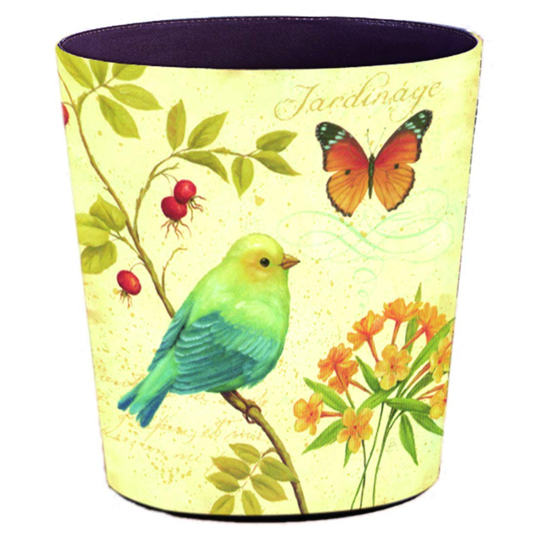 Lingxuinfo Retro Style New sales Small Cash special price Trash Decorative T Can Wastebasket
