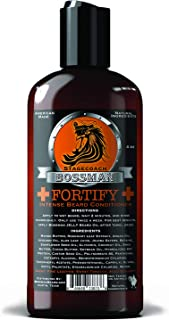 Bossman Fortify Intense Beard Conditioner to Grow, Thicken, Moisturize and Protect Your Beard (Stagecoach)