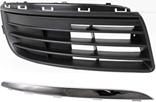 Bumper Face Bar Trim Front Left Hand Side for VW Driver LH VW1046105 Sedan Jetta