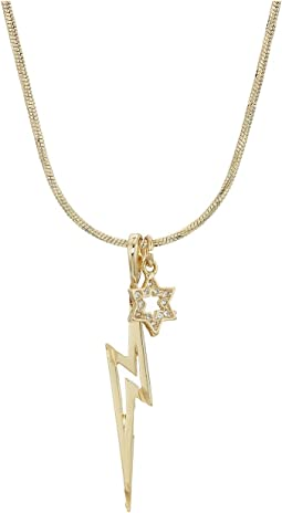 Vanessa Mooney - The Destiny Lightning Bolt Necklace