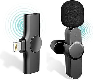 iDiskk 2,4 GHz draadloze iOS-lightning-connector Lavalier-microfoon voor iPhone iPad draadloze microfoon Video-opname, You...
