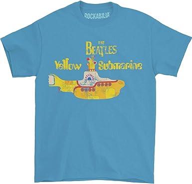 Beatles - Camiseta para hombre, color azul
