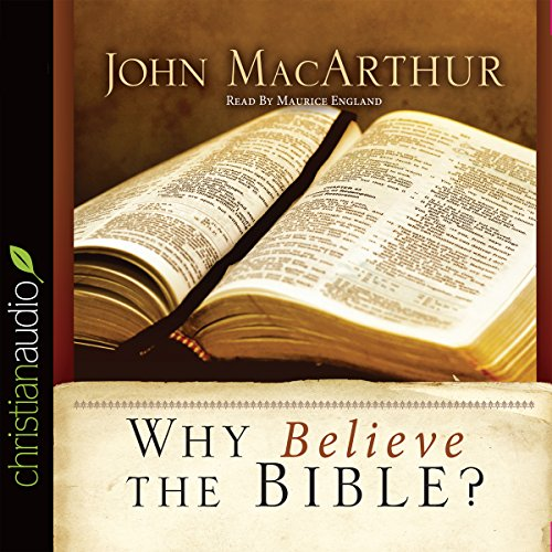 Why Believe the Bible? audiobook cover art