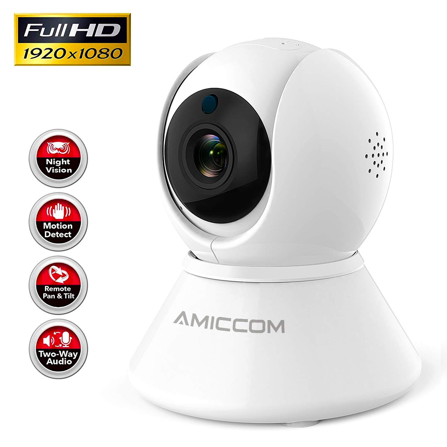 Camera 1080P Security Wireless Auto Cruise Activity