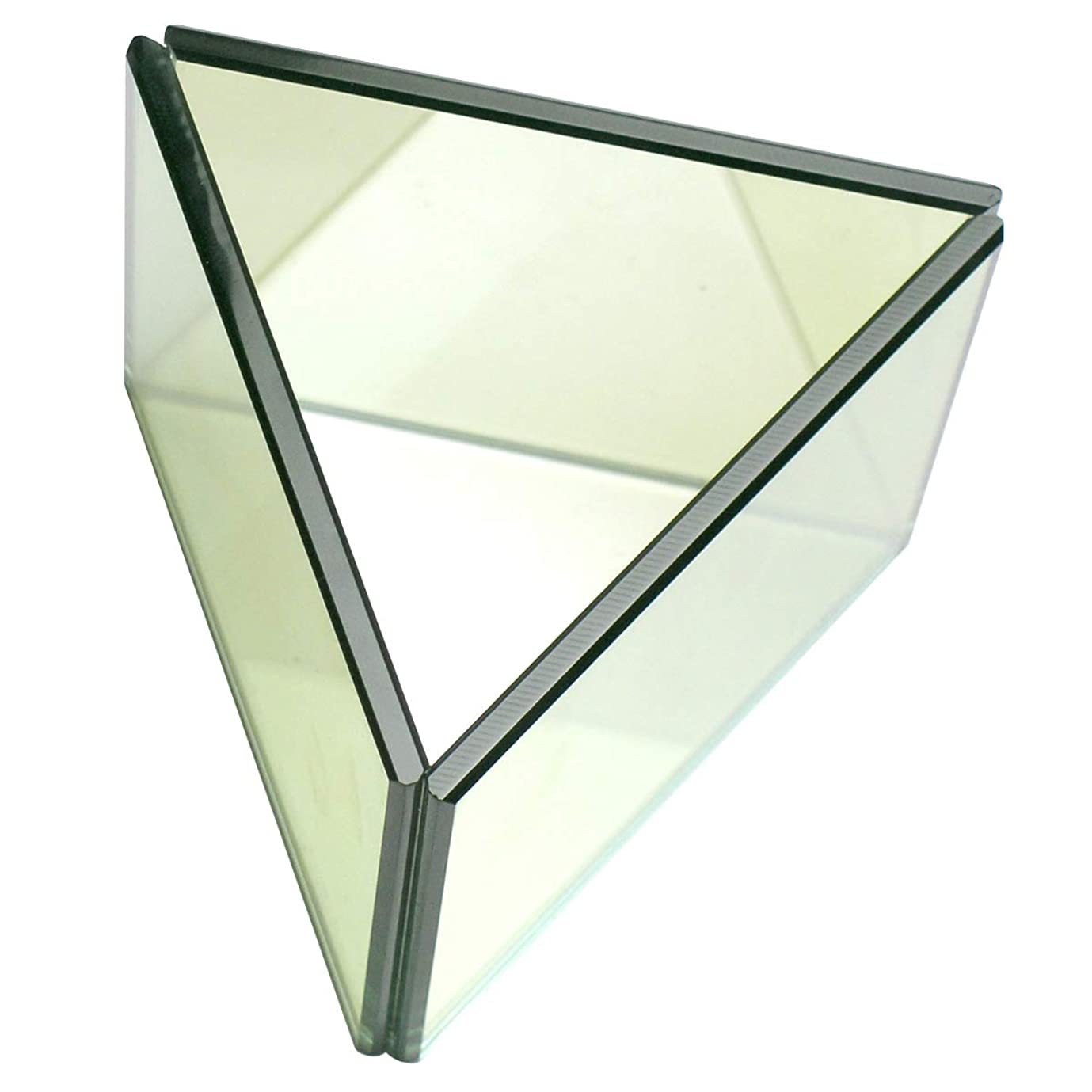 一時的弱めるきゅうり無限連鎖キャンドルホルダー トライアングル ガラス キャンドルスタンド ランタン 誕生日 ティーライトキャンドル