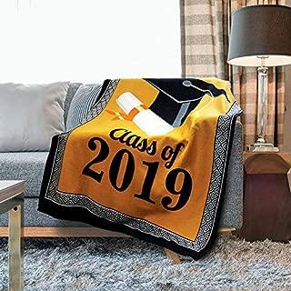 Kovot 2019 Graduation Throw Fleece Blanket | Class of 2019