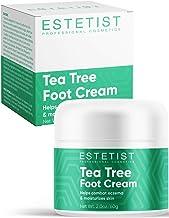 Tea Tree Oil Foot Cream, Foot Treatment Eczema Cream and Skin Moisturizer, Antifungal Foot Cream