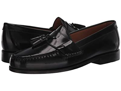 Johnston & Murphy Hayes Tassel Loafer (Black) Men