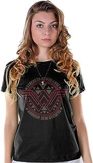 9106d4af0c Camiseta Mulher Maravilha Logo Poder e Amor