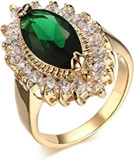 Best green gold ring Reviews