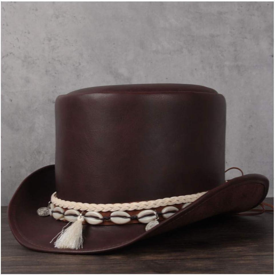 ZRZZUS Elegant Retro Autumn Winter Top Hat Cool Wedding Under blast sales Leather Special sale item