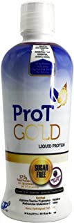 ProT GOLD Berry Sugar Free Liquid Protein Shot - 30oz Anti Aging. Proven to Boost Immunity. Formula Trusted by 4,000+ Medi...