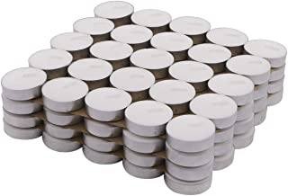 Homesake® Wax Tealight Candles, Votive Candles, Decoration (Set of 100)