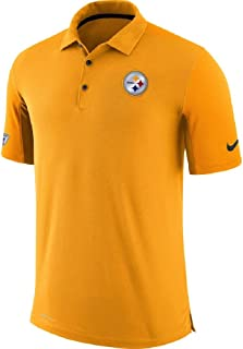 Nike Pittsburgh Steelers Team Issue Dri-FIT Men's Golf Polo Shirt Small