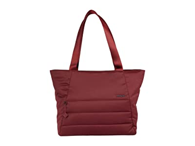 Hedgren Kyela 3 Compartment Puffer Tote (Vineyard Wine) Bags