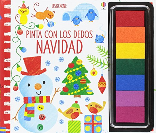 Pinta con los dedos Navidad