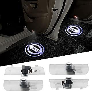 4PCS Aukur Logo Projector Car Door LED Lighting Entry Projector for Nissan