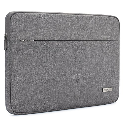 NIDOO Laptop Sleeve Case 14 Inch Water Resistant Cover Bag Protective Portable Pouch for 14' Lenovo Chromebook S330 / Lenovo ThinkPad E490 T490 T490s T590 / HP ProBook 645 G4 / Acer Swift 5 7,Grey