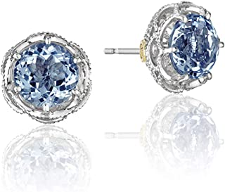 SE105 Crescent Crown stud-earring
