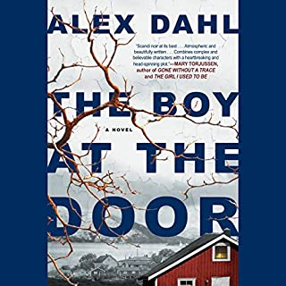The Boy at the Door audiobook cover art