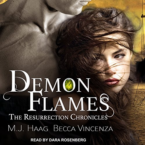 Demon Flames audiobook cover art