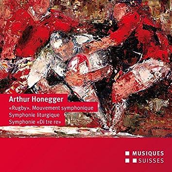 Honnegger: Symphonies Nos. 3, 5 & Mouvement symphonique No. 2