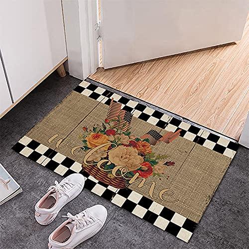 Dabige Alfombra de baño antideslizante simple felpa antideslizante alfombra dormitorio cocina alfombra material fibra de poliéster