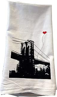 New York Brooklyn Bridge Floursack Tea Towel