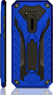 Kitoo Samsung Galaxy S8 Case | Military Grade | 12ft. Drop Tested Protective Case | Kickstand | Wireless Charging | Compatible with Galaxy S8 - Blue