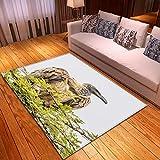 LGXINGLIyidian Alfombra Hermoso Mundo Animal Natural Alfombra Suave Antideslizante De Decoración del Hogar De Impresión 3D T-2702E 180X200Cm