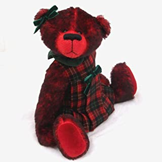 Joy - Teddy Bear OOAK Red Tipped Steiff Schulte Mohair Artist Collectible 15 inches