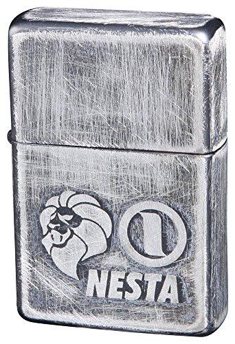 NESTA BRAND(ネスタブランド) オイルライター ユーズド 銀メッキ DXN-USV